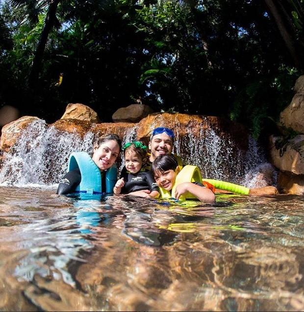 Wesley Safadão em família (Foto: Reprodução)