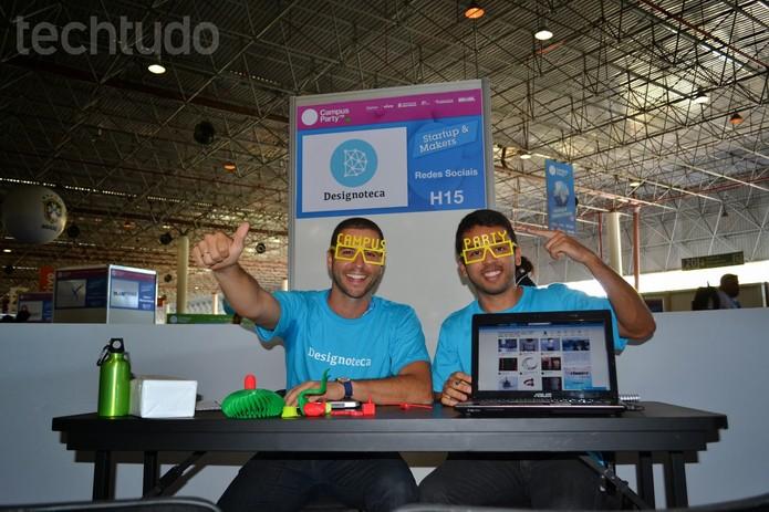 Henrique Monnerat, e equipe do Designoteca é do Rio de Janeiro, encubada na COPPE/URFJ (Foto: TechTudo/Melissa Cruz)
