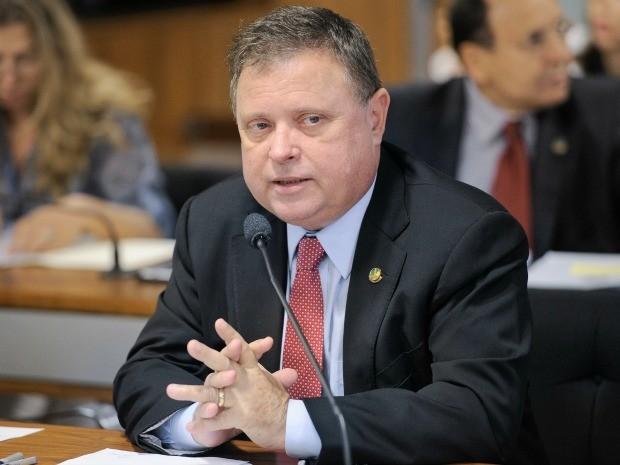 O senador Blairo Maggi (PR), de Mato Grosso. (Foto: Pedro França / Agência Senado)