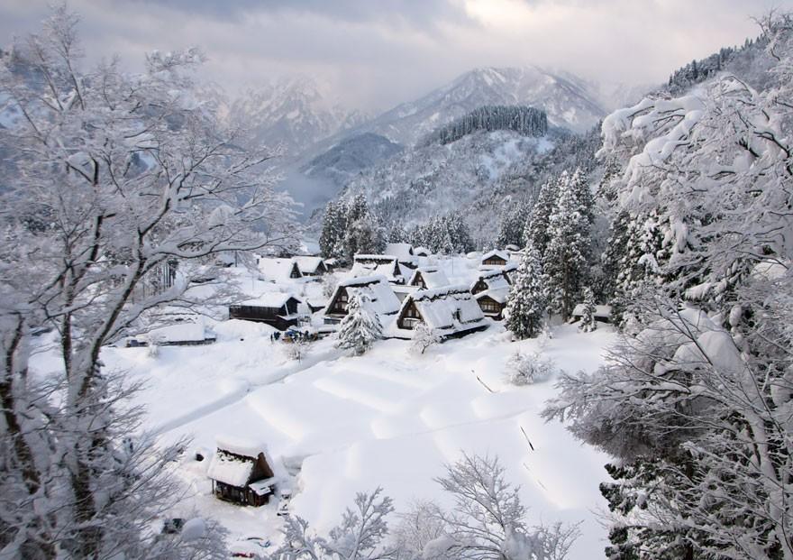Gokayama, no Japão (Foto: Divulgação)