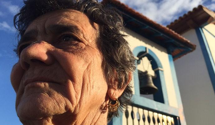 Dona Vaíca faz almoço às 8h da manhã para poder andar pela cidade  (Foto: Divulgação)