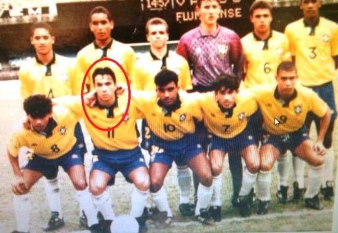 Eduardo Duca seleção sub-17 Fenômeno (Foto: Acervo pessoal)