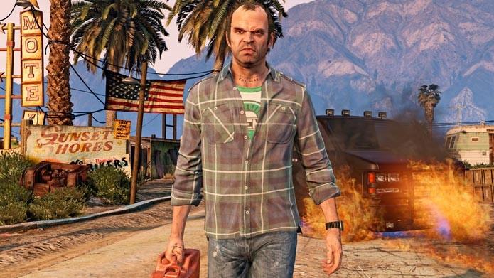 GTA 5 mostrou que ainda consegue impressionar em 2015 (Foto: Divulgação/Steam)