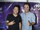João Bosco e Vinícius cantam pela 10ª vez em Barretos e falam sobre DVD