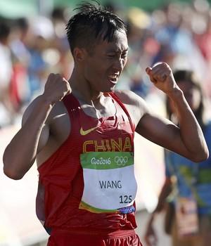 Wang Zhen marcha atlética olimpíada rio 2016 (Foto: REUTERS/Sergio Moraes)