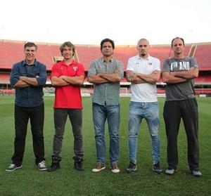 Jogadores São Paulo Morumbi (Foto: Divulgação / São Paulo)