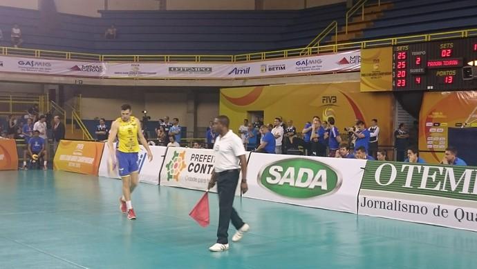 Delegações de Cruzeiro e Zenit assistem jogo do 3º lugar (Foto: Rafael Araújo)