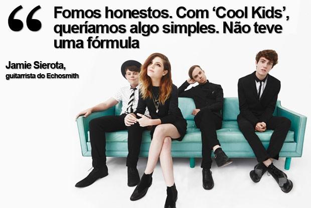 Echosmith fala do hit 'Cool Kids' (Foto: Divulgação)