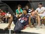 Bom exemplo: jogadores do Galo visitam projeto de inclusão de jovens