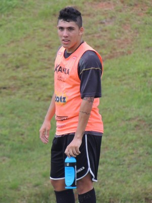 Bruno Lopes Criciúma atacante (Foto: João Lucas Cardoso)