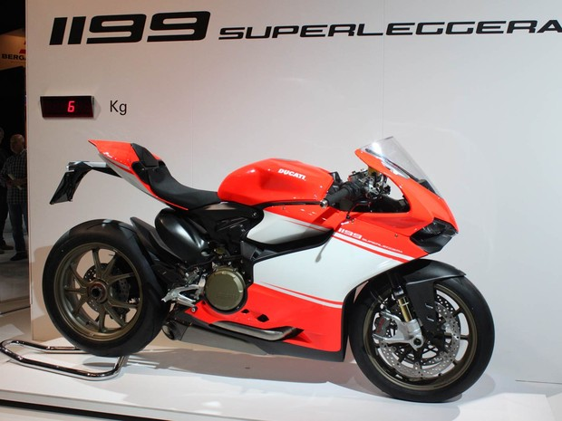 Ducati 1199 Superleggera (Foto: Rafael Miotto/G1)