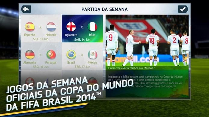 FIFA 14 tem conteúdo especial para a Copa do Mundo do Brasil (Foto: Divulgação)