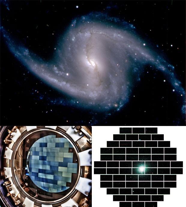 Galáxia Fermilab (Foto: Fermilab/Divulgação)