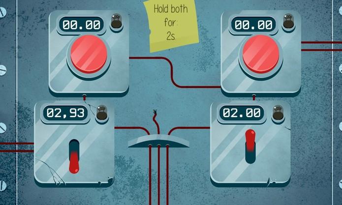 Defuser é um game para Windows Phone onde jogador deve desarmar bombas no tempo certo (Foto: Reprodução/Elson de Souza)
