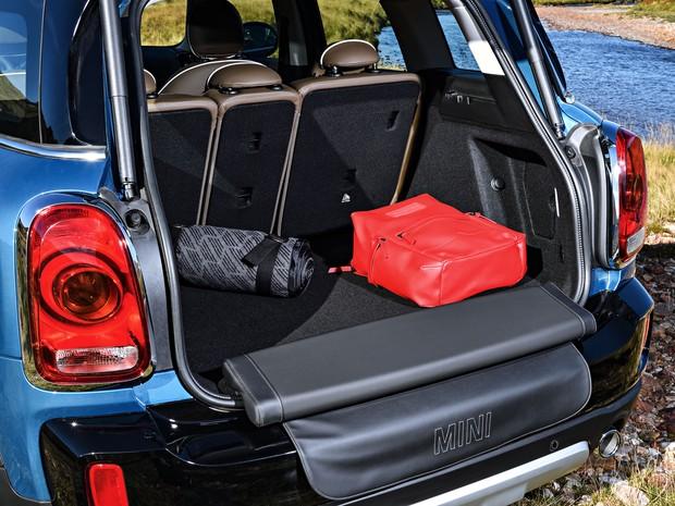 Mini Countryman ficou com porta-malas maior (Foto: Divulgação)
