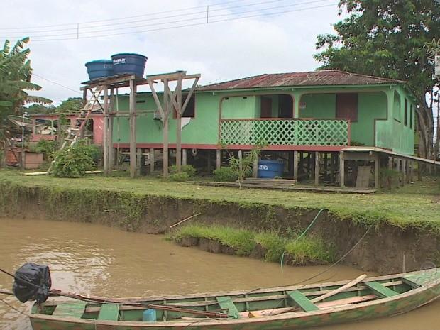 Defesa Civil realizou vistoria no distrito na sexta-feira, 22 (Foto: Reprodução/TV Rondônia)