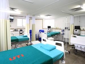 Unidade de Terapia Intensiva contará com sete leitos. (Foto: Divulgação/Rafael Lima/Ascom)