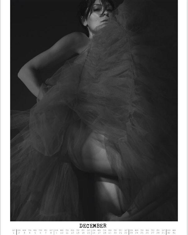Jessie J em imagem do mês de dezembro (Foto: Reprodução/Instagram)