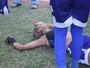 Com calor de 39°, árbitro termina jogo aos 36; cinco atletas vão ao hospital