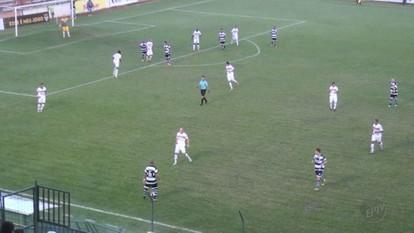 Barretos marca no final e empata com o XV de Piracicaba
