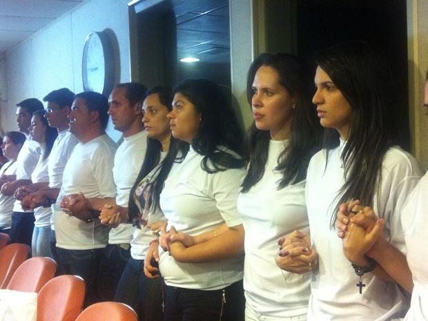 Julgamento do caso do estupro coletivo de Queimadas, em João Pessoa (Foto: André Resende / G1)