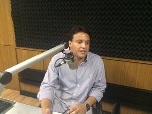 Secretário de Cultura do Maranhão Felipe Camarão (Foto: Zeca Soares/G1)