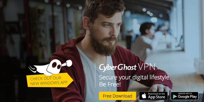 CyberGhost é grátis e eficaz (Foto: Reprodução/Felipe Vinha)