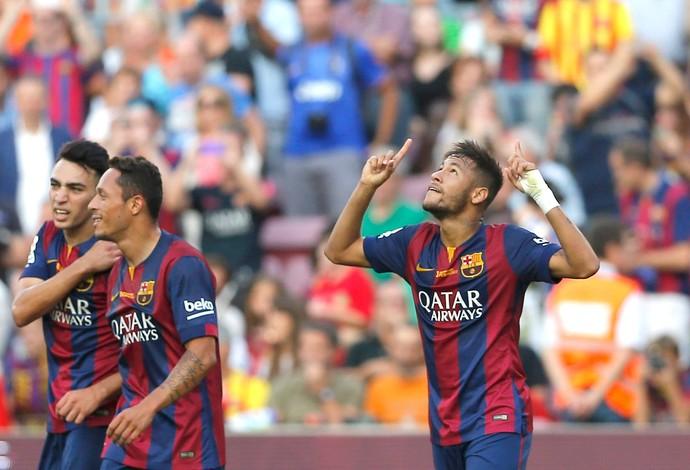 Neymar, Barcelona x Granada (Foto: AP)