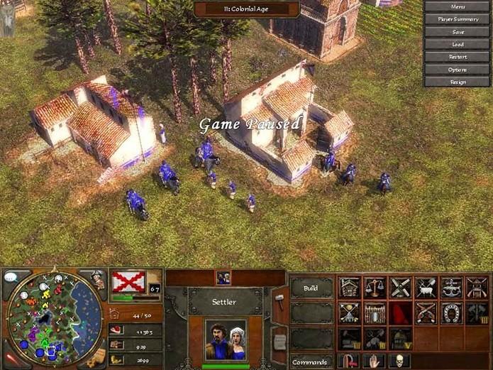 Barracks são as construções obrigatórias para quem utiliza o Rushing (Foto: Divulgação)