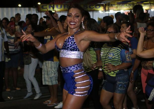 Ana Paula Evangelista (Foto:  Daniel Pinheiro/AgNews )