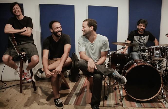 A banda Reverse conversa sobre a carreira e participação no SuperStar (Foto: Carlos Cardeal/Gshow)