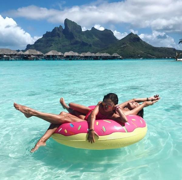 Alessandra Ambrósio e Anja (Foto: Reprodução/Instagram)