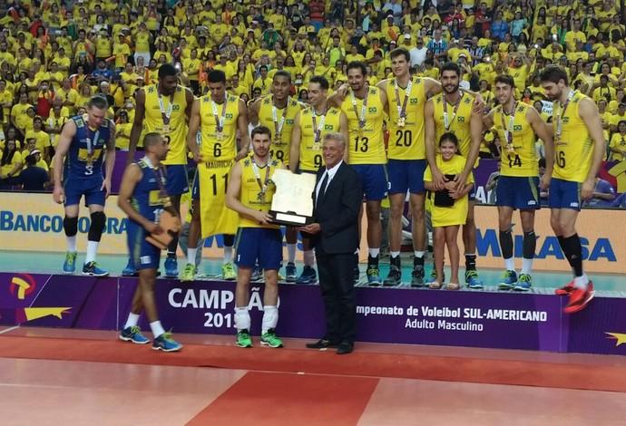 Brasil x Argentina, Sul-Americano de vôlei (Foto: Marcello Pires)