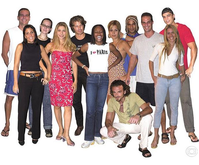 Relembre os participantes do BBB1 (Foto: TV Globo)