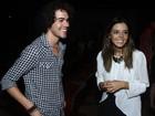 Sam Alves, do 'The Voice Brasil', confere peça de Giovanna Lancellotti