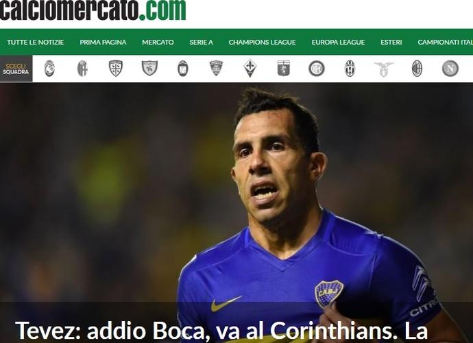 Tevez Calcio Mercato (Foto: Reprodução)