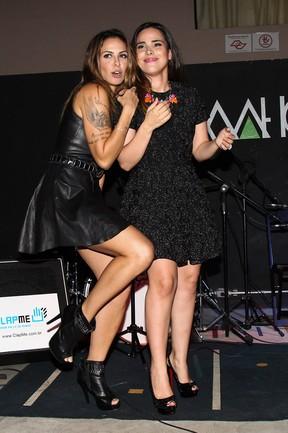 Alinne Rosa e Wanessa  Camargo (Foto: Manuela Scarpa/Photo Rio News)