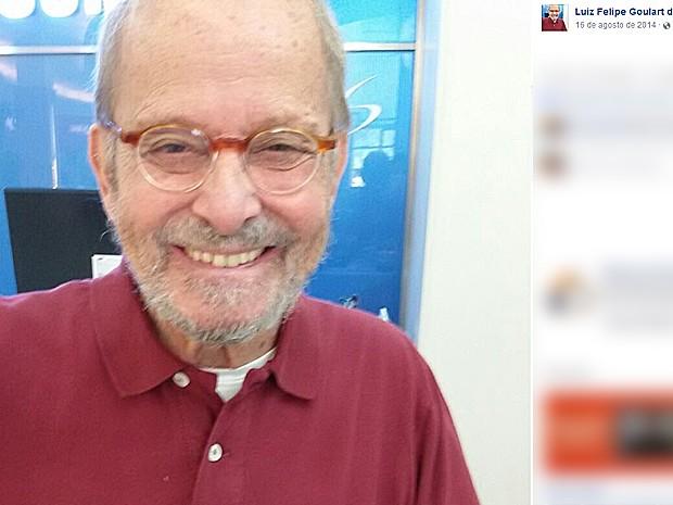 Goulart de Andrade, apresentador de TV e jornalista (Foto: Reprodução/Facebook)