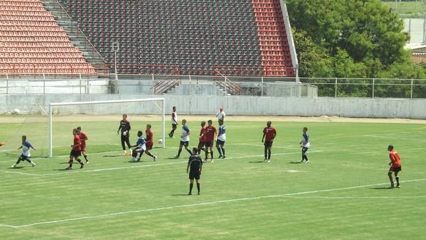 Ituano São Bento treino (Foto: Marcus Vinícius Souza/GloboEsporte.com)