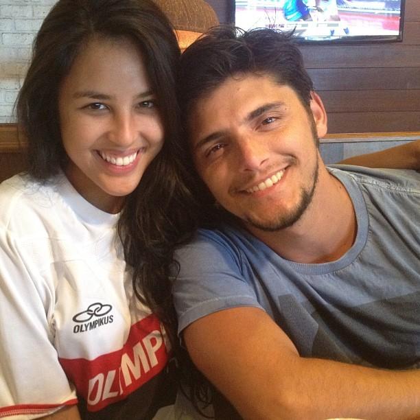 Bruno Gissoni e namorada (Foto: Instagram / Reprodução)