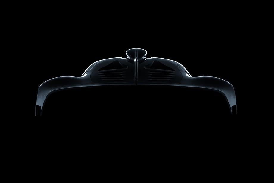 O superesportivo da Mercedes Project One (Foto: Divulgação)