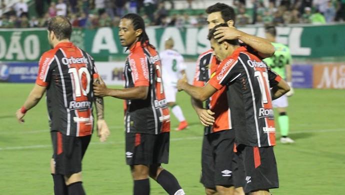 Joinville gol Chapecoense (Foto: José Carlos Fornér / JEC)