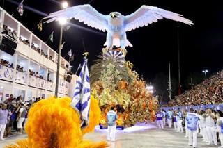 Desfile da Portela  (Foto: Claudio Andrade / Ego)