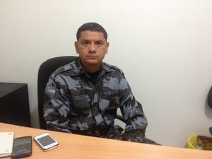 Tenente-coronel Jackson Rodrigues, comandante do Bope (Foto: John Pacheco/G1)