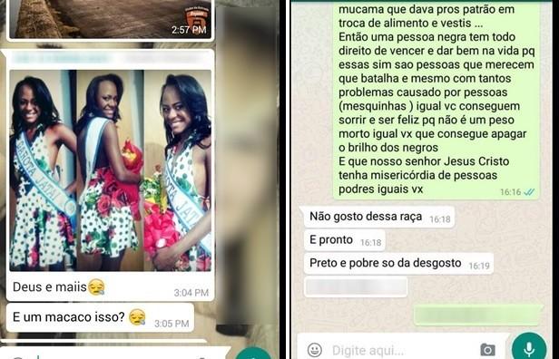 Polícia identifica 3 suspeitos de injúria racial contra negra que ganhou concurso em Goiás (Foto: Arquivo pessoal)