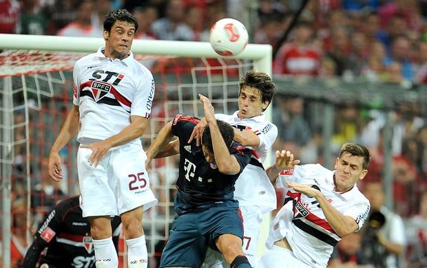 Fabrício jogo São Paulo e Bayern de Munique (Foto: EFE)