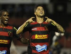 Sport x Chã Grande - Cicinho - Érico Júnior (Foto: Aldo Carneiro/Pernambuco Press)