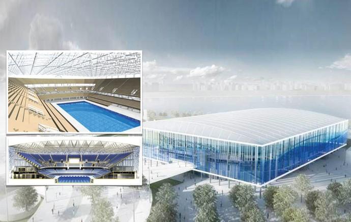 carrossel centro aquatico projeto olimpiadas (Foto: Divulgação)