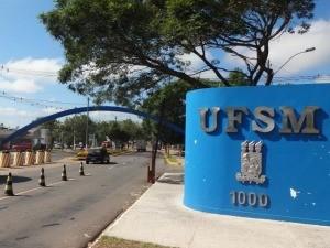 Universidade Federal de Santa Maria UFSM (Foto: Felipe Truda/G1)