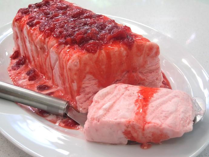 Sobremesas refrescantes para o verão. Gelado de Morango (Foto: Gshow)